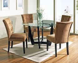 labels glass top tables with wood bases