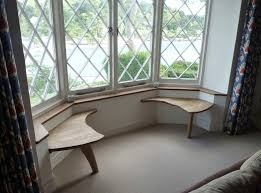 Contemporary sideboard table / wooden / wall-mounted - BAY WINDOW SEATING