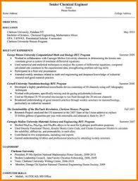 7 entry level chemical engineering resume entry level engineering resume
