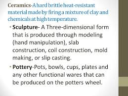 Ceramics Ii Chart Ceramics Clay Kiln Firing Glaze