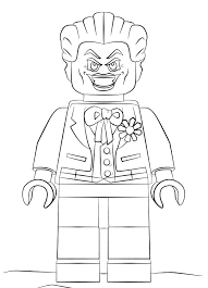 Joker coloring page from batman category. Lego Coloring Pages Gallery Whitesbelfast