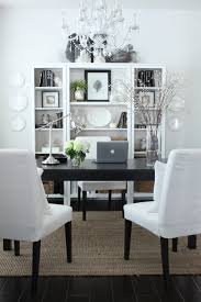 dining room used as office. for my dedicated office the only thing i did was remove large centerpiece and rearranged dining chairsu2026 room used as c