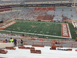 Dkr Texas Memorial Stadium Section 102 Rateyourseats Com