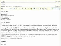 Sample Email For Sending Resume And Cover Letter Luxury Sample Email