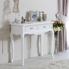 white console table with drawer. Brilliant White Two Drawer Console Table  Elise White Range On With