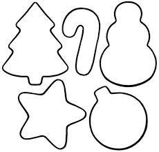 Small Picture 6 Images of Printable Christmas Ornaments Unit Christmas
