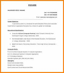 Best Resume Structure 10 Proper Resume Format World Wide Herald