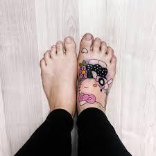 Nejlepší Tetování Na Noze Dívky Tetování Na Noze Od Nápisů Až Po