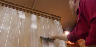 filling the grooves in paneling before painting for a smooth surface old wood wall83 paneling