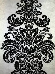 damask flocked wallpaper crystallised by kandola  wallpaper direct