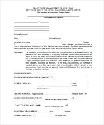 Commercial Letter Of Intent Template – Gocollab
