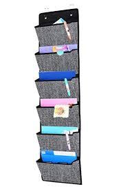 Onlyeasy Over Door Hanging File Organizer Office Supplies