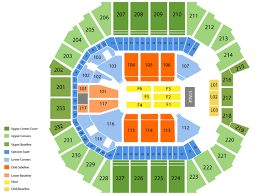 58 Qualified Charlotte Spectrum Center Seating