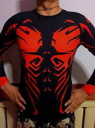 Designer Rash Guard Shadow Hunter Rash Guard Mma Fight T Shirt Men Designer T