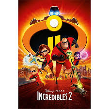 incredibles 2 official poster. Simple Poster The Incredibles 2  Disney  Pixar Movie Poster Print Regular Style  To Official L