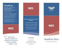 Tri Fold Samples Sample Tri Fold Brochure Magdalene Project Org