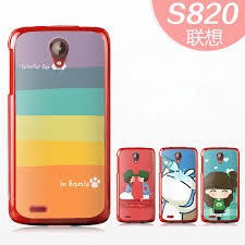 lenovo phone 2014. new 2014 lenovo s820 mobile phone cover case lovely cute fashion style cartoon design printed