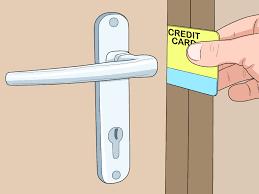 how to unlock a door