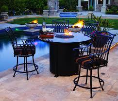 extraordinary outdoor pub table set 11 alfresco home tremiti round mosaic bistro bar height sets