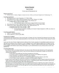 Assistant Coach Resume Samples Coaching Resume Samples Football Coach Template From College
