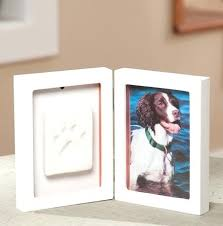gifts for pet lovers. Gifts For Pet Lovers Paw Print Frame Kit .
