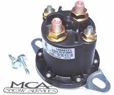 boss plow parts solenoid boss western snow plow round hyd01633 56131 56134 42902 2 screws