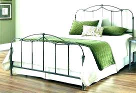 Wood And Wrought Iron Beds Headboard King Bed Frame Vs Wooden ...