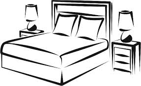 bedroom clipart black and white. Perfect Bedroom Bedroom Clipart Black And White 9 Clean Inside Bedroom Clipart Black And White L
