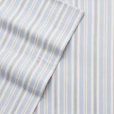 blue and white striped sheets. Contemporary White NIP Cuddl Dudds QUEEN 100 Cotton Heavyweight FLANNEL SHEETS Blue Stripe For And White Striped Sheets 1