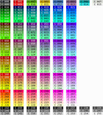 Tput Setaf Color Table How To Determine Color Codes Unix