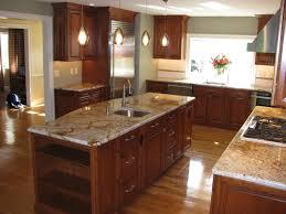 Cherry Wood Cabinets Kitchen With Fresh Kitchen Light Cherry Kitchen