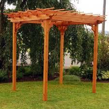 pergola 50p. a u0026 l furniture western red cedar swing pergola 50p