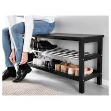 Storage Bench With Coat Rack Ikea Ikea Shoe Storage Bench Photo Gallery Of Tjusig Bench With Shoe 76