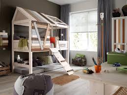 Rete protezione letto bambini: cameretta con letto a castello per