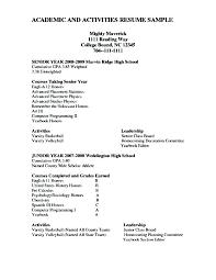 Scholarship Resume Examples Scholarship Resume Examples Scholarship