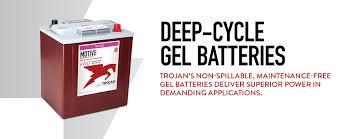 Deep Cycle Gel Trojan Battery Company