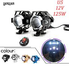Отзывы о Universal Motorcycle LED Light U5 12V Auxiliary Lamp ...