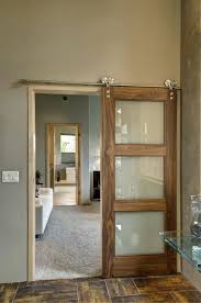 barn door style interior doors bedroom glass pantry large size of