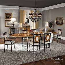 marvelous italian lacquer dining room furniture. Classic Dining Table Solid Wood Oval Extending Casanova Room Furniture Black Sets Modern Cabinets Oak Bedroom Italian Lacquer Pine Round And Chairs Rattan Marvelous