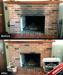 clean fireplace glass ammonia screen burning insert