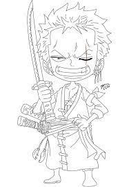 Tranh tô màu One Piece