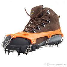 Satın Al Dağcılık Kramponlar Ayakkabı Traction Kramponlar 11 Diş Buz Kar  Sapları Kramponlar Balıkçılık Yürüyüş Tırmanma Ücretsiz Nakliye Için,  TL73.75 | Tr.Dhgate.Com