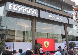 ferrari mumbai showroom 1