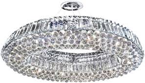 beacon lighting crystal chandeliers track chandelier worldwide chrome oval luxury light winsome cryst
