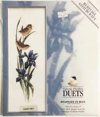 Valerie Pfeiffer Duets Rhapsody In Blue Counted Cross Stitch