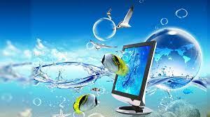 Moving Cool 3D Background Desktop (Page ...