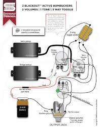 wiring diagrams seymour duncan part 33 Seymour Duncan Wiring Diagram 2 blackouts, 2 volume, 1 tone, 3 way toggle seymour duncan wiring diagrams humbucker