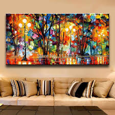 >palette knife large multicolor abstract oil painting on canvas  palette knife large multicolor abstract oil painting on canvas modern home wall art decor picture for living room 3d gift lovers in painting calligraphy
