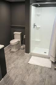 bathroom in basement without breaking concrete