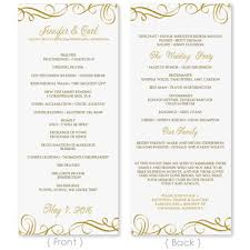 Wedding Program Templates Free Word Free Wedding Programs Templates Microsoft Word Wedding Program